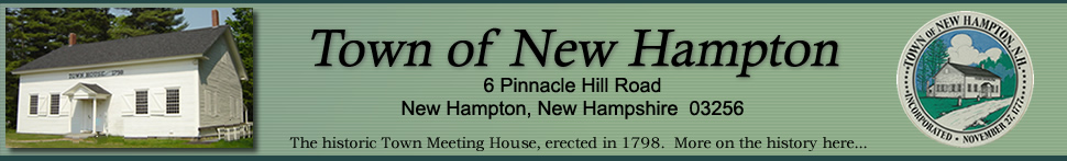 Town of New Hampton, New Hampshire Website